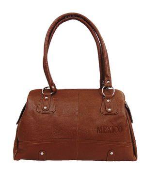 Impress Brown Handbag - MEST5807
