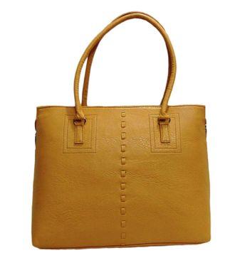 Impress Beige Handbag - MEST6036