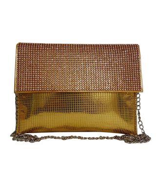Fabsilk Gold Clutch - MEST6101