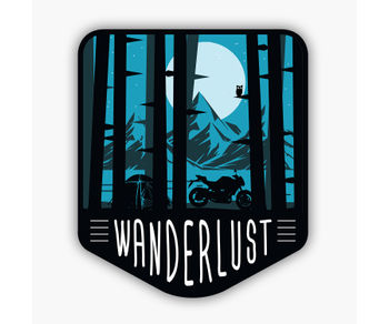 WANDERLUST |Sticker
