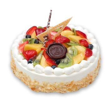 Fresh Fruit Cake 1/2 Kg