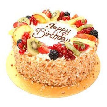 Fresh Fruit Cake 1 Kg