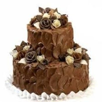 2 Tier Blackforest Cake