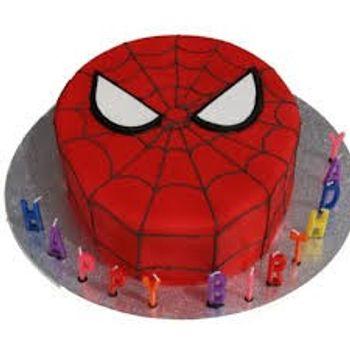 Super Hero Cake Flat (Like Spiderman)