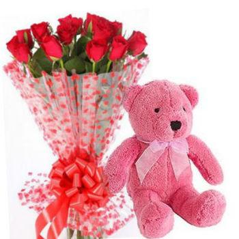Roses N Bear