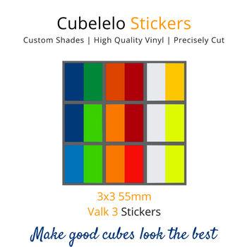 Cubelelo 3x3 Yan3 Stickers