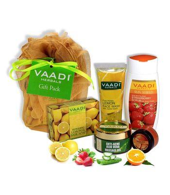 Vaadi Herbals Youthful Skin Gift Pack (Set of 5)