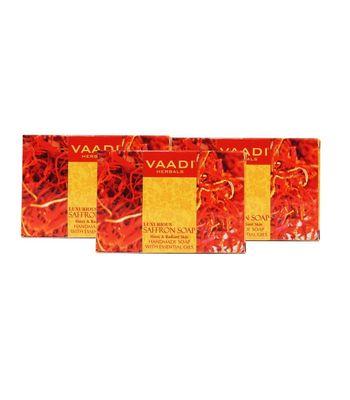 LUXURIOUS SAFFRON SOAP (3 X 75 gms)