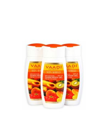 Sunscreen Gel With Mixfruit Extracts SPF-25 (110 ml)