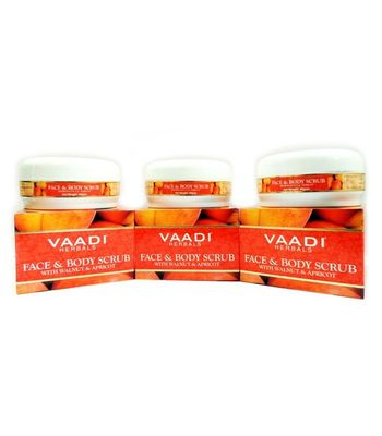 Face & Body Scrub with Walnut & Apricot