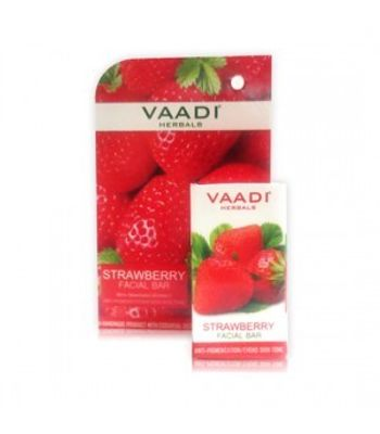 Strawberry Facial Bar Anti-Pigmentation /Evens Skin Tone ( set of 4 pcs )