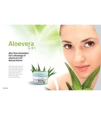 Aloe – Vera antioxidant Gel with vitamin A, C & E Natural Actives