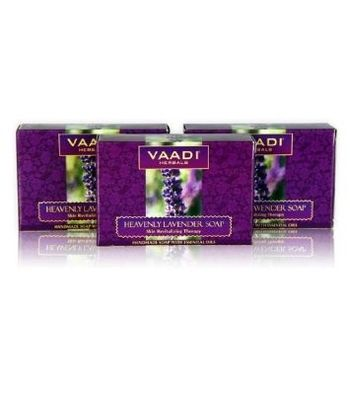 Heavenly LAVENDER SOAP with Rosemary extract (3 X 75 gms)