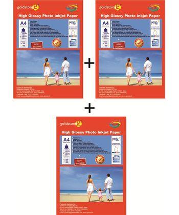 Gocolor High Glossy Inkjet Paper 180 GSM A4 / 60 Sheets