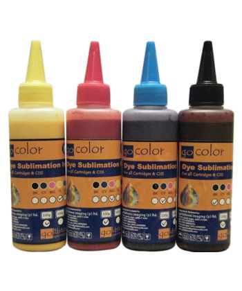 Gocolor Sublimation Ink 70Ml X 4 Colour