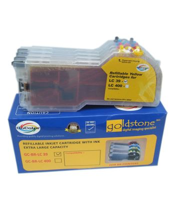 Gocolor Lc 39 Brother Extra Large Cartridge Set Of 4 Colours