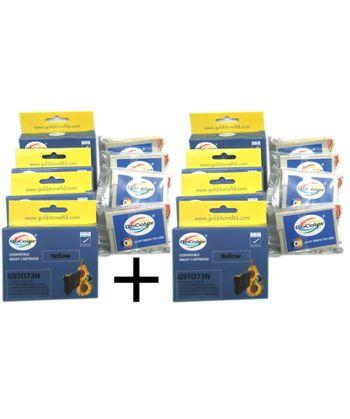 GoColor Compatible Cartridges 73N Epson X 2 Packs Combo