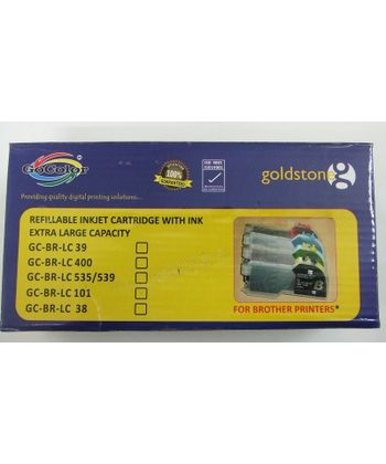 GoColor LC 535/539 Brother Extra Large Cartridge Set of 4 Colours for Brother Printers J100, J105 & J200