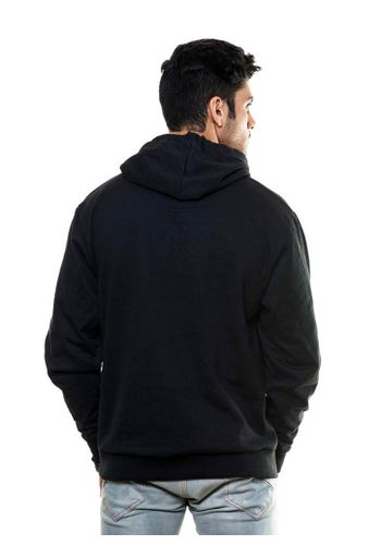 Henley Sweatshirt with Hood