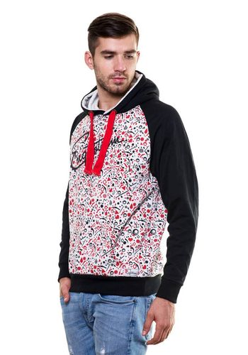 All Over Print sweatshirt with Hood