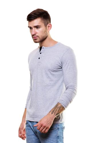 Smart fit henley tshirt