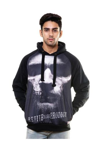 Digital Print sweatshirt with Hood