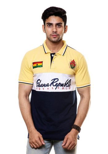Premium Cotton Polo Tshirt with Embroidery