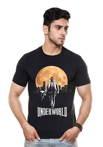 Underworld Moon Round Neck T Shirt