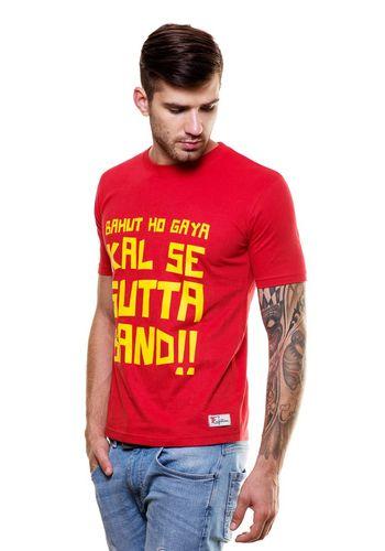 Kal se sutta Band Round Neck T Shirt