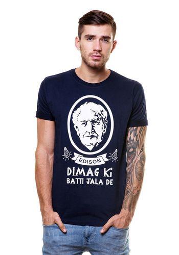 Edison Round Neck T Shirt