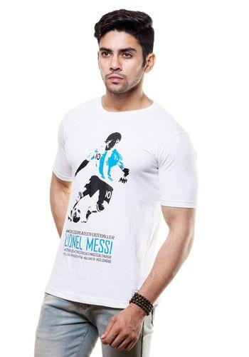 Lionel Messi Round Neck T Shirt