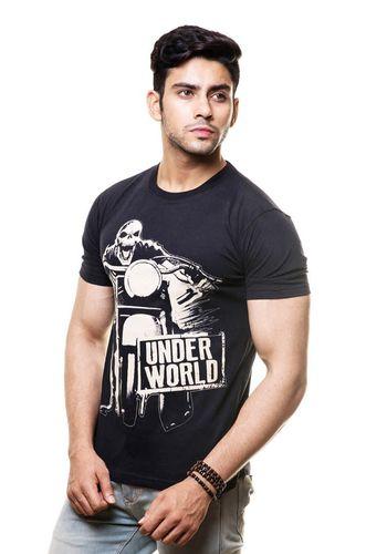 Underworld Biker Round Neck T Shirt