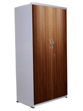 2 Door Wardrobe - Wooden Texture-09
