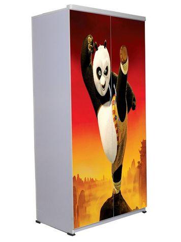 2 Door Wardrobe - Kung Fu Panda