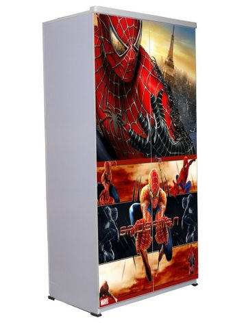 2 Door Wardrobe - Spiderman