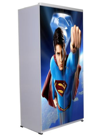 2 Door Wardrobe - Superman