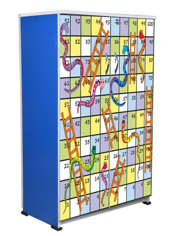 BigSmile Kids Wardrobe - Snakes and Ladder