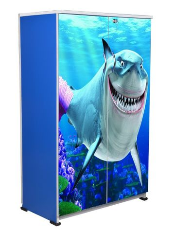 BigSmile Kids Wardrobe - Sea Shark
