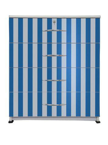 BigSmile Chest of Drawer - Blue Stripes