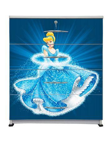 BigSmile Chest of Drawer - Dazzling Princess