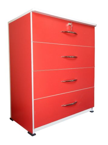 BigSmile Chest of Drawer - Red
