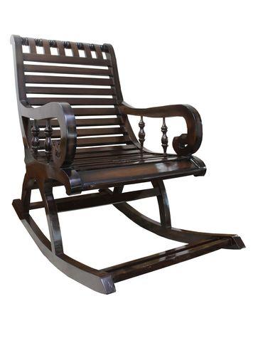 Manhattan Rocking Chair - Walnut Finish
