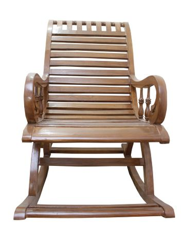 Maestro Rocking Chair - Teak Finish