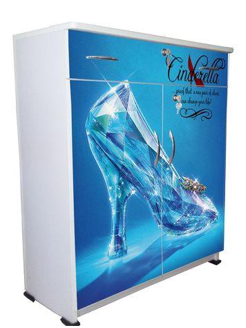 BigSmile Shoerack - Blue Heels