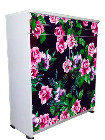 BigSmile Shoerack - Rosy Rose