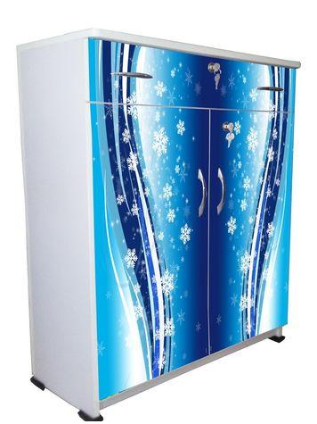 BigSmile Shoerack - Blue Glass