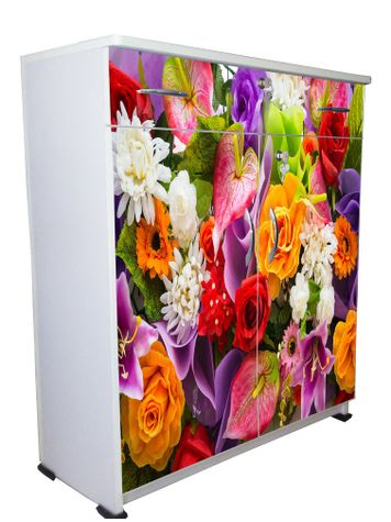 BigSmile Shoerack - Flowers