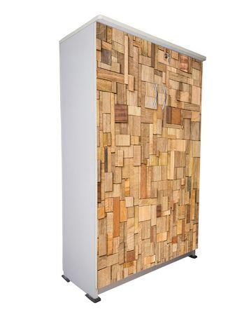 BigSmile Shoerack - Wooden Blocks