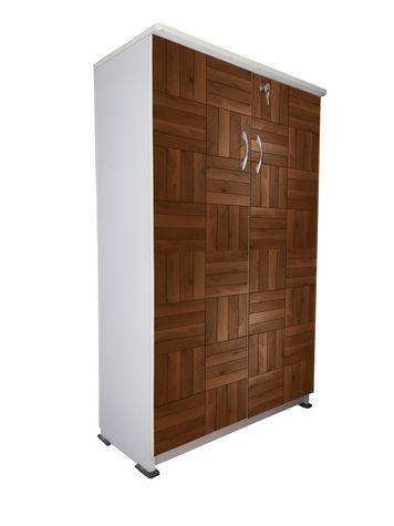 BigSmile Shoerack - Wooden Design