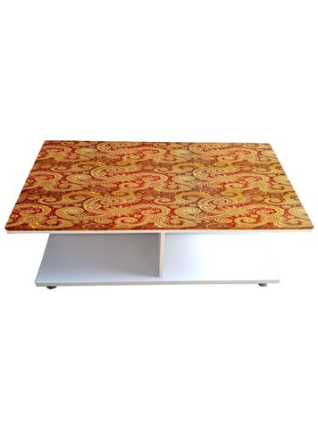 Coffee Table - Abstract Design (Glossy Finish)